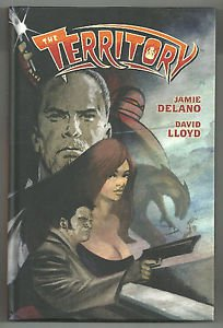 The Territory Hardcover Graphic Novel (Dark Horse Books) Jamie Delano