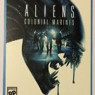 Nintendo Wii Aliens Colonial Marines Blockbuster Artwork Display Card