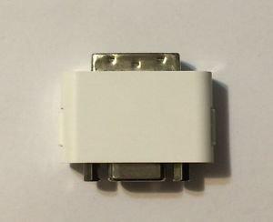 DVI To VGA Adapter White