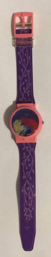 Disney's Sleeping Beauty Digital Wrist Watch Holographic Flip Top