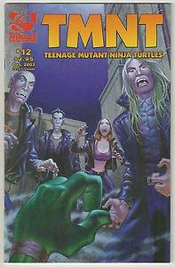 TMNT Teenage Mutant Ninja Turtles #12 (Mirage 2001 Series)