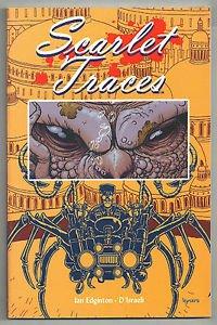 Scarlet Traces French Edition TPB Graphic Novel Ian Edginton  D'Israeli