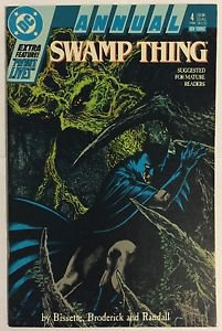Swamp Thing Annual #4 (DC Comics) Features Batman  FN/VF Condition