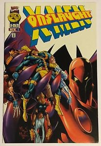Onslaught: X-Men #1 (Aug 1996, Marvel) American Entertainment Variant Cover NM