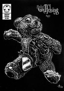 Chronicles of Van Helsing Sally Mini Comic Book (Darkslinger Comics)