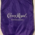 Crown Royal Purple Cinch Pack Drawstring Bag