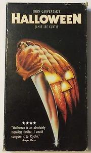 Halloween (VHS, 1997) Video Treasures Anchor Bay Jamie Lee Curtis