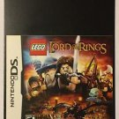 Nintendo DS Lego Lord of the Rings Blockbuster Artwork Display Card