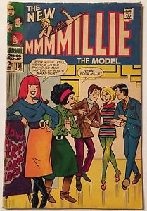 Millie The Model (Marvel Comics, August 1968) #161