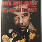 Bela Lugosi The Ape Man and The Human Monster Horror Double Feature (DVD, 2002)