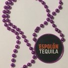 Espolon Tequila Purple Beaded Necklace