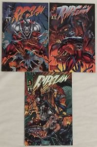 Ripclaw Complete 3 Issue Mini-Series (Image Top Cow) 1 2 3