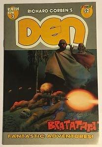 Richard Corben's Den #3 (Fantagor) VF Condition