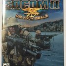 SOCOM: U.S. Navy SEALs II (Demo Disc) (Sony PlayStation 2, 2003)