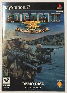 SOCOM: U.S. Navy SEALs II (Demo Disc) (Sony PlayStation 2, 2003)
