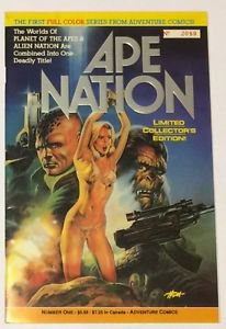Ape Nation #1 Special Limited Edition NM Planet of the Apes Alien Nation Crossov