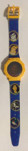 Disney's Pocahontas Holographic Flip Top Wrist Watch