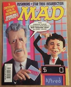 MAD Magazine #380 (Apr 1999, EC) Jeopardy Parody Cover