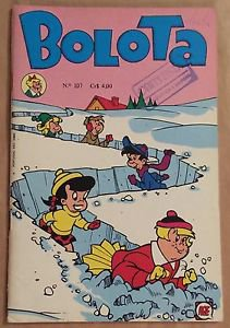 Bolota #107 Little Lotta Brazilian Foreign Edition Snow Plow Cover