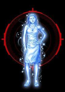 Ghost Assassin Melissa Pin-Up 11x17 Inch Poster Darkslinger Comics