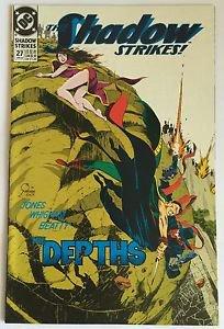 The Shadow Strikes! #27 (Jan 1992, DC) VG/FN