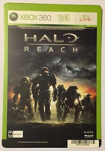 Xbox 360 Halo Reach Blockbuster Artwork Display Card