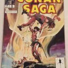 Conan Saga #10 (Feb 1988, Marvel) VG/FN Condition  Comic Magazine