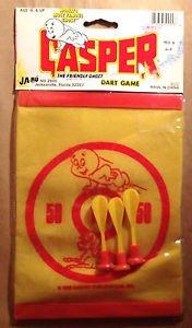 Casper The Friendly Ghost Ja-RU Dart Game New in Package 1988