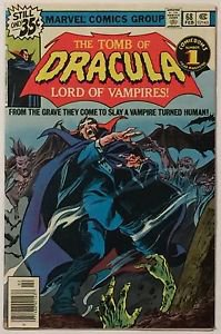 Tomb of Dracula #68 (Feb 1979, Marvel) VG Condition