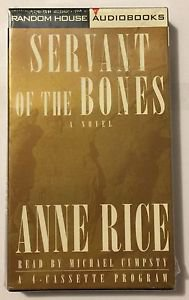 Servant of the Bones by Anne Rice (1996, Cassette, Abridged) Brand New