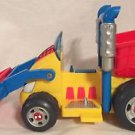 Spider-man & Friends Li'L Dump Truck Action Figure Vehicle 2002 Playwell