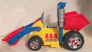 Spider-man & Friends Li'L Dump Truck Action Figure Vehicle 2002 Playwell