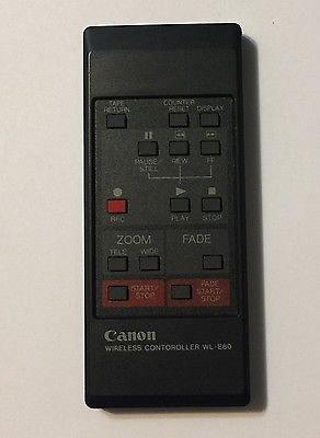 Canon WL-E80EXP Remote Control Controller