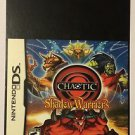 Nintendo DS Chaotic Shadow Warriors Blockbuster Artwork Display Card