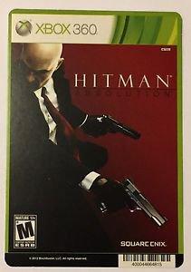 Xbox 360 Hitman Absolution Blockbuster Artwork Display Card