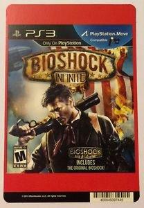 Playstation 3 Bioshock Infinite Blockbuster Artwork Display Card