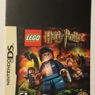 Nintendo DS Lego Harry Potter Years 5-7 Blockbuster Artwork Display Card