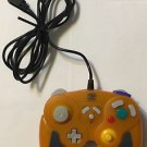 Hip Gear Nintendo Gamecube Wired Controller Orange GR3001 Tested and Working