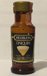 Heublein Daiquiri Vintage Miniature Empty Bottle