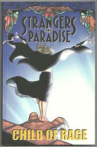 Strangers In Paradise Child Volume 9 Child Of Rage by Terry Moore TPB Abstract