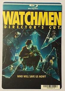 Watchmen Director's Cut Blu-Ray Blockbuster Artwork Display Card