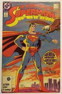 Adventures of Superman #424 (Jan 1987, DC) FN Condition