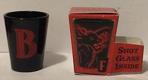 Fireball Whisky Shot Glass Dragon Letter B