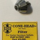 Harley Davidson Softail Cone Head Filter Bolt FLST FXST 1991 Part 3-08L
