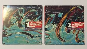Coca-Cola Music CD Volume 1 and 2 Elton John Rod Stewart Randy Travis Freddie