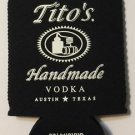Tito's Handmade Vodka Texas Koozie Drink Cooler Brand New Legal Since 1997