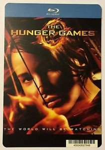 The Hunger Games Blu-Ray Blockbuster Artwork Display Card
