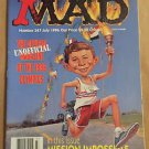 MAD Magazine #347 (Jul 1996, EC) 1996 Olympics Parody Cover