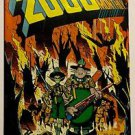 2000 AD Monthly (1986 2nd Series, Eagle Comics) #3 FN/VF Condition Judge Dredd