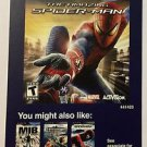 Playstation 3 The Amazing Spider-man Blockbuster Artwork Display Card